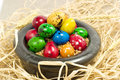 Free Colorful Eggs In Bowl Stock Photo - 2354840