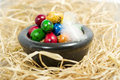 Free Colorful Eggs In Bowl Stock Images - 2354854