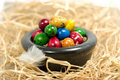Free Colorful Eggs In Bowl Royalty Free Stock Photo - 2354885