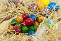 Free Easter Eggs In Straw Stock Photo - 2354900