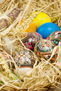 Free Easter Eggs In Straw Royalty Free Stock Photography - 2354957