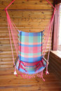 Free Cabin Porch Swing Stock Photography - 2355082
