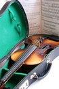 Free Violin In Case Stock Photo - 2358120