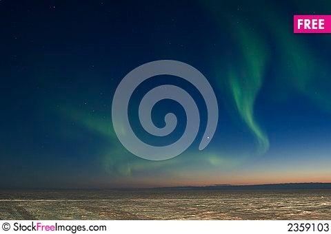 Free Chaotic Aurora Borealis Stock Photos - 2359103