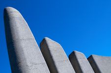 Afrikaans Language Monument Royalty Free Stock Photo