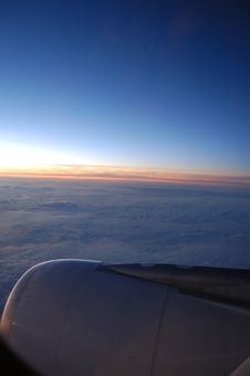 Free View From Airplane Royalty Free Stock Photo - 2350395