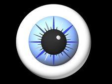 Free Blue Eye Royalty Free Stock Photos - 2351588