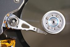 Free Hard Drive Head And Disc Royalty Free Stock Images - 2352329