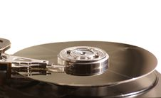 Free Hard Drive Head And Disc Royalty Free Stock Photo - 2352345