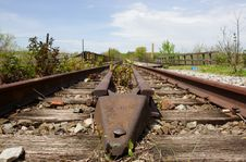 Free Old Railroad Tracks Royalty Free Stock Photos - 2352358