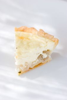 Free Goat Cheese Tart Royalty Free Stock Photo - 2353045