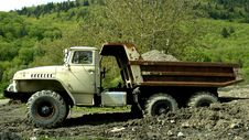 Free Vintage Dump Truck Stock Image - 2353081