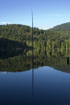 Free Lake With Mirrored Surface Stock Photos - 2354353