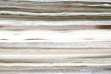 Stack Of Magazines Background Royalty Free Stock Photography