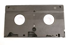 Free Single Vhs Tape Royalty Free Stock Photography - 2355057