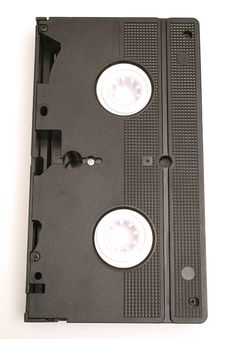 Free Single Vhs Tape Vertical Royalty Free Stock Images - 2355089