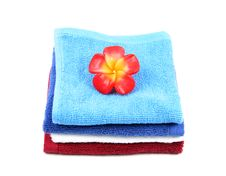 Free Colorful Fluffy Towels Royalty Free Stock Photos - 2355118