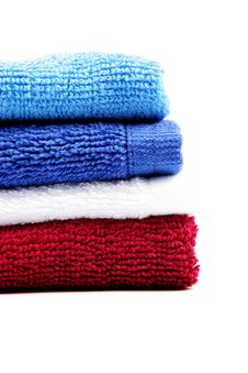 Free Colorful Fluffy Towels Royalty Free Stock Image - 2355126