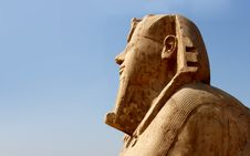 Sphinx Of Memphis, Egypt Royalty Free Stock Photo