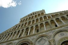 Free Cathedral Facade Detail - PISA Royalty Free Stock Image - 2355676