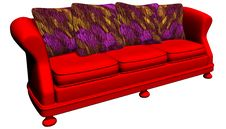Free Modem Furniture - Sofa Royalty Free Stock Images - 2355779