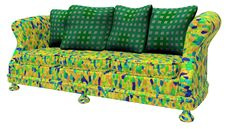 Free Modem Furniture - Sofa Stock Photo - 2355780
