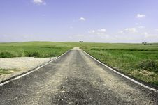 Free Road Through The Landscape Stock Photos - 2355873