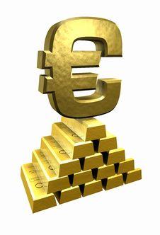 Free Gold_Euro Stock Image - 2355941
