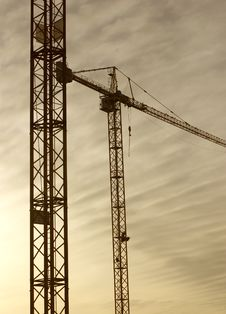 Free Cranes Royalty Free Stock Photography - 2356317