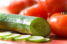 Free Tomatoes And Cucumber Stock Photos - 2356703
