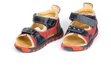 Free Baby Sandals Royalty Free Stock Photo - 2356715