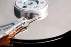 Free Hard Disk Close-up Stock Photo - 2356740