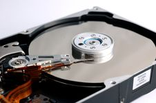 Free Opened Hard Disk Drive Royalty Free Stock Image - 2356776