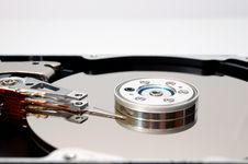 Free Hard Disk Drive Close-up Royalty Free Stock Photo - 2356785