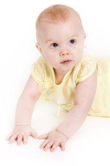 Free Baby Girl Stock Image - 2357391