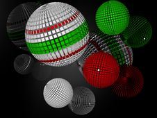 Free Spheres Royalty Free Stock Photo - 2358515