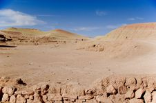 Free Moroccan Desertic Landscape Stock Images - 2358614