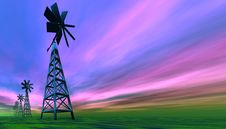 Free Windmills Royalty Free Stock Photos - 2358648