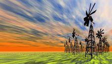 Free Windmills Stock Photos - 2358653