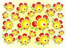 Free Red-yellow Flowers Royalty Free Stock Images - 2359119