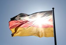 Free German Flag Royalty Free Stock Photography - 2359147