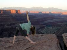 Free Yoga In Canyonlands Royalty Free Stock Images - 2359339