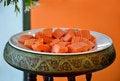 Free Papaya Royalty Free Stock Photography - 23508347