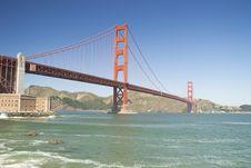Free Golden Gate Bridge, San Francisco Stock Images - 23502134