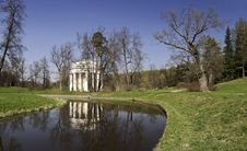 Free Rotunda With Columns In Spring Stock Images - 23502884