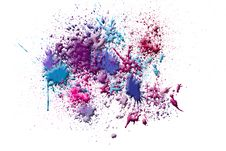Free Abstract Ink Splash Stock Image - 23504111