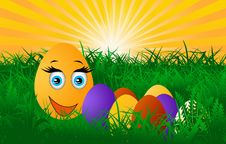Free Easter Eggs Royalty Free Stock Image - 23507216