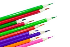 Free Colour Pencils Stock Image - 23511321