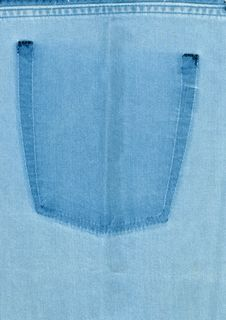 The Texture Of Denim Stock Photo