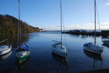 Free Boats At Aberdour Royalty Free Stock Photography - 23512557